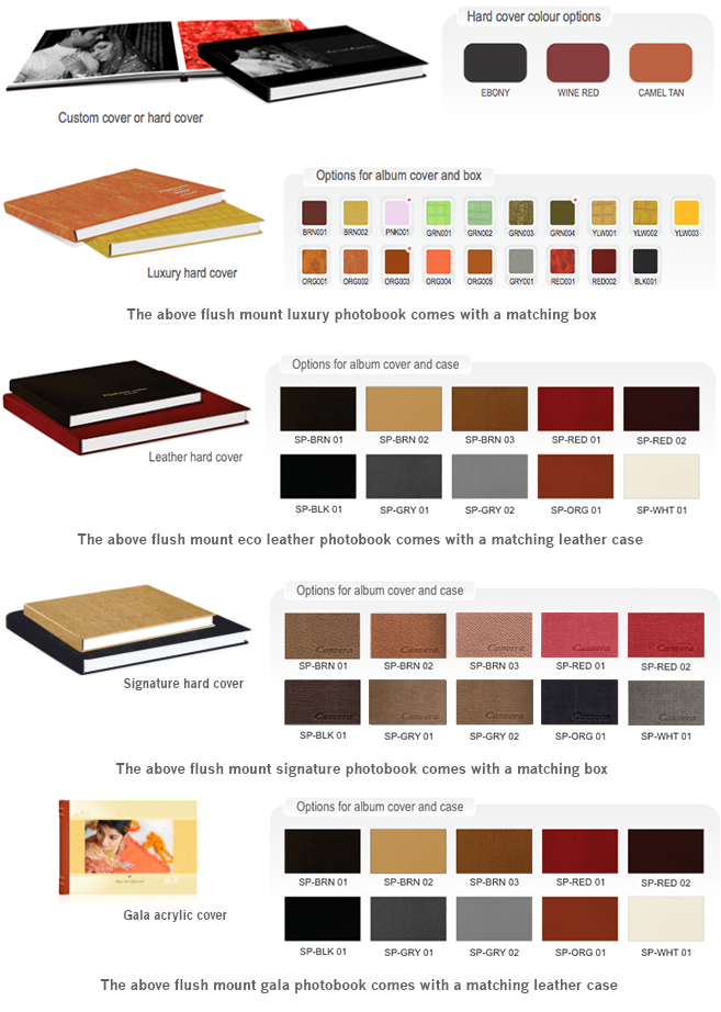 Types Of Book Cover Paper : Best artistic wedding albums