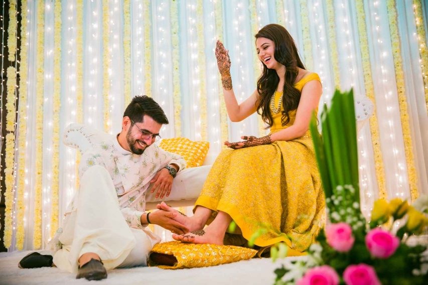 best wedding photographer for haldi - 2