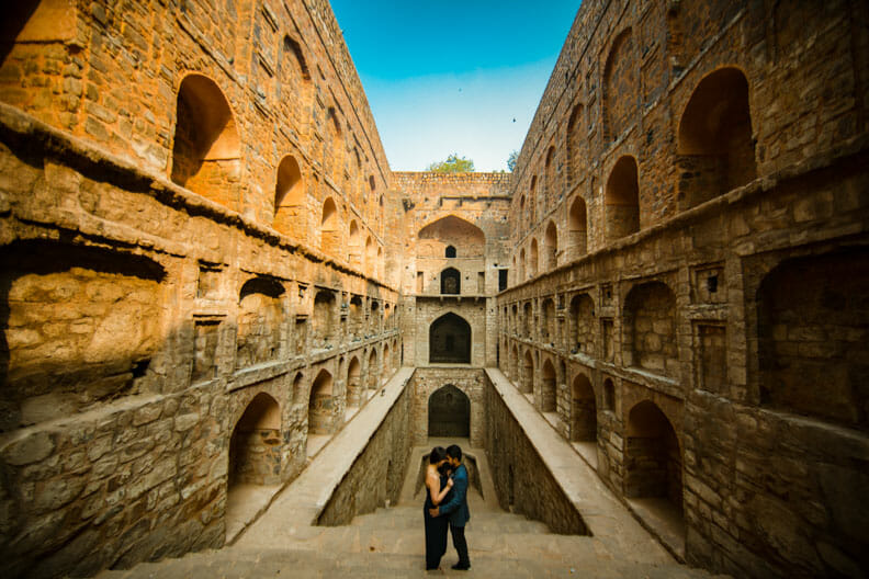 Mesmerizing Pre wedding shoot Jantar Mantar-1