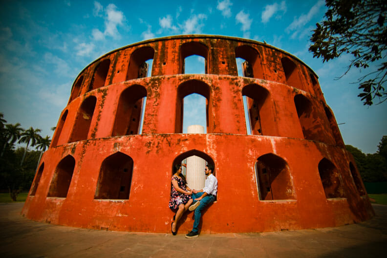 Mesmerizing Pre wedding shoot Jantar Mantar-12
