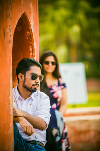 Mesmerizing Pre wedding shoot Jantar Mantar-15