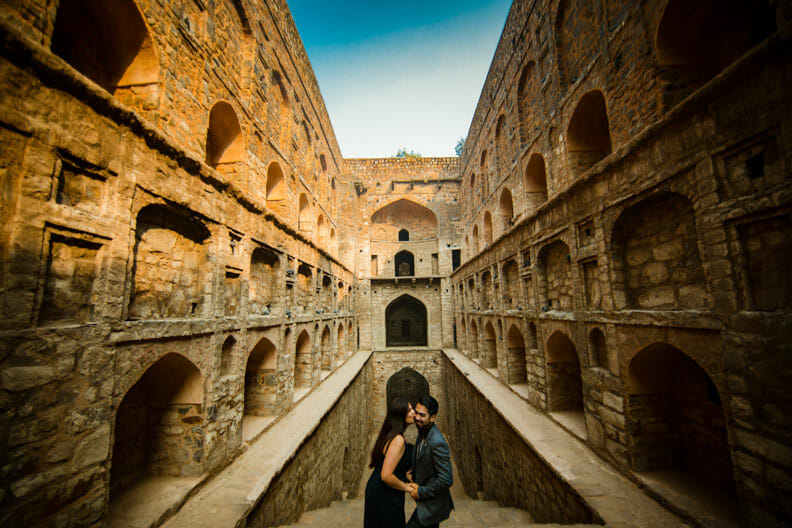 Mesmerizing Pre wedding shoot Jantar Mantar-2
