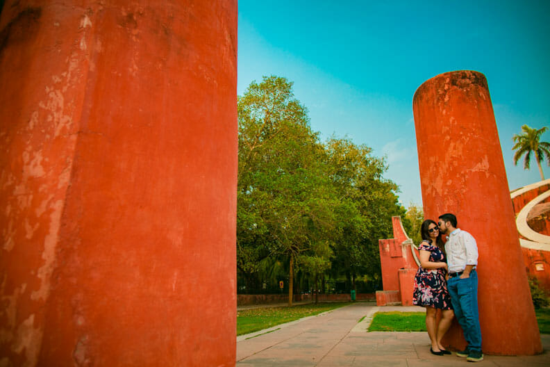 Mesmerizing Pre wedding shoot Jantar Mantar-20
