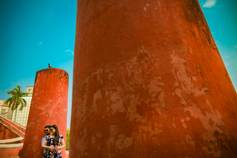 Mesmerizing Pre wedding shoot Jantar Mantar-21