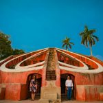 Mesmerizing Pre wedding shoot at Jantar Mantar