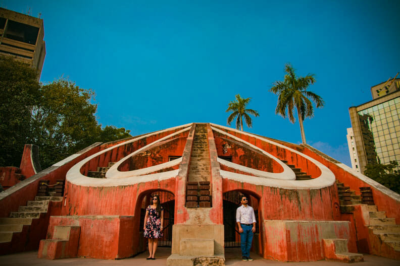 Mesmerizing Pre wedding shoot Jantar Mantar-22