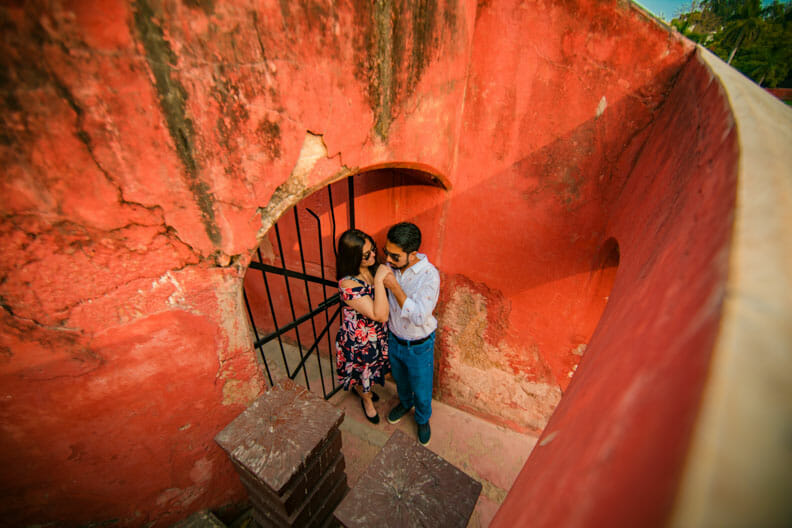 Mesmerizing Pre wedding shoot Jantar Mantar-24