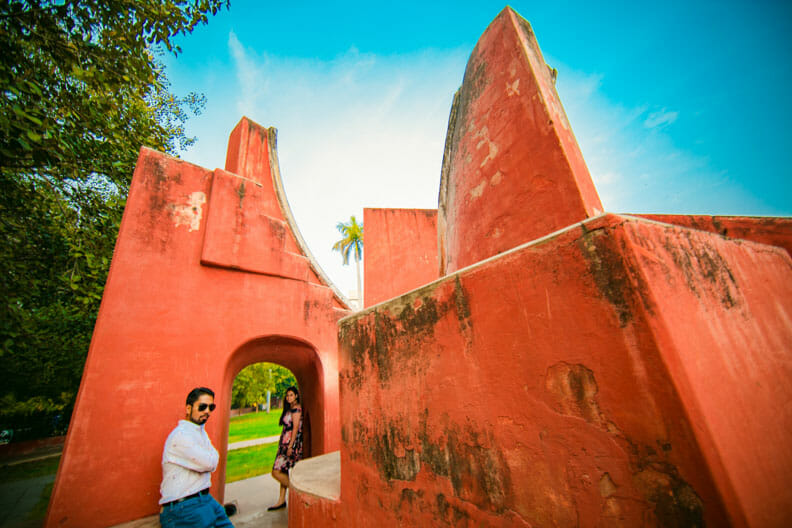 Mesmerizing Pre wedding shoot Jantar Mantar-26