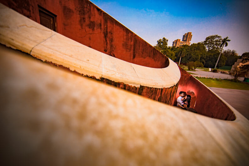 Mesmerizing Pre wedding shoot Jantar Mantar-27