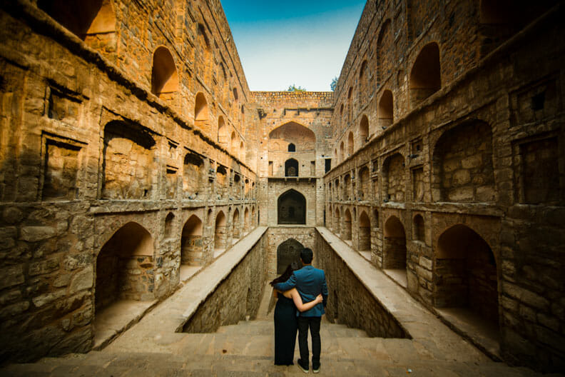 Mesmerizing Pre wedding shoot Jantar Mantar-3