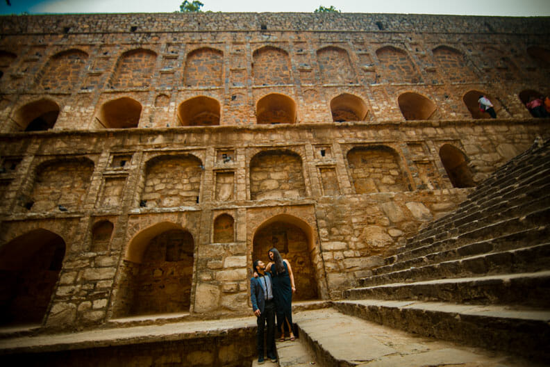 Mesmerizing Pre wedding shoot Jantar Mantar-5