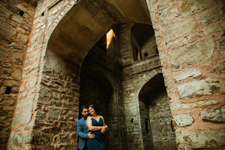 Mesmerizing Pre wedding shoot Jantar Mantar-8