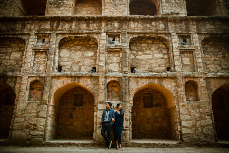 Mesmerizing Pre wedding shoot Jantar Mantar-9