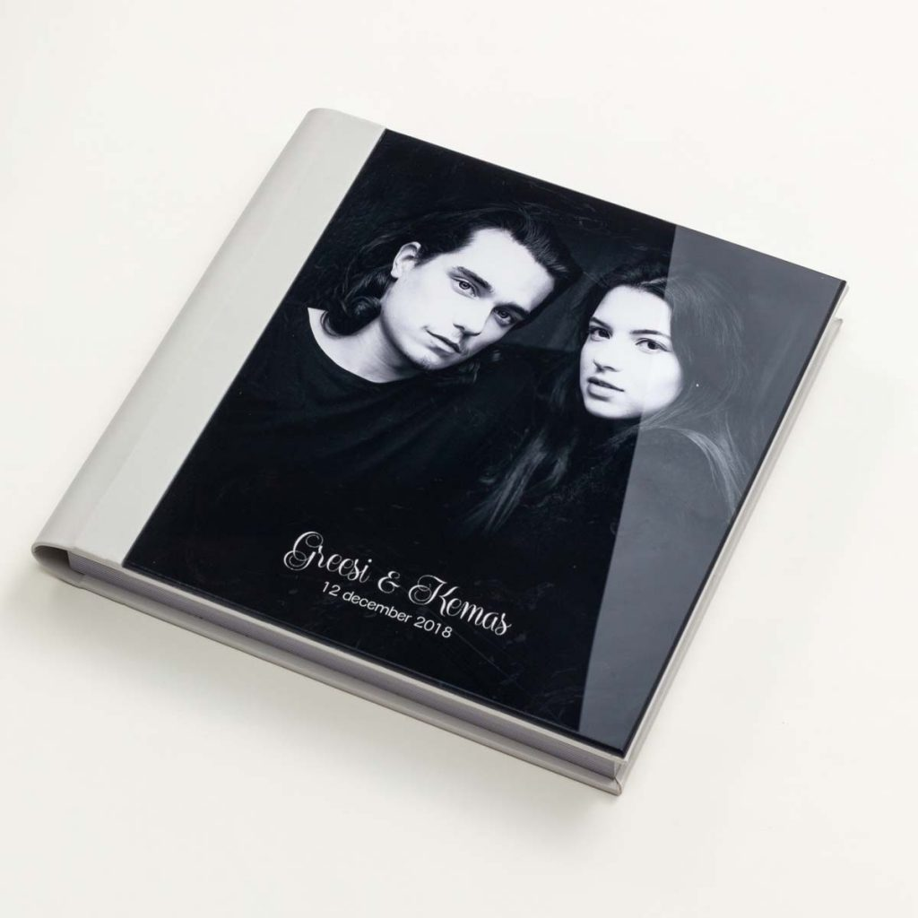 Full Acrylic-Leather Cover Album